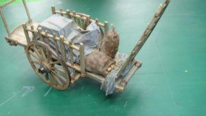 Peinture charrette à foin 1/35 (Partie 2/2).