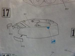 Assemblage de la tourelle du T34/85 Dragon.