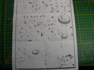 Etapes E à L de la notice Voger Model décrivant les détails à ajouter à la tourelle Dragon d'origine.