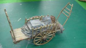 Imitation effet métallique sur une maquette.