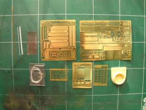 Kit update Voger Model pour T34-85. Détail du contenu.