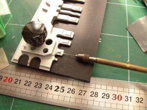 Préparation des pièces maquette Dragon T34/85.